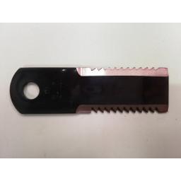 Nůž 50x4x173 ozubený 2 strany - 42250