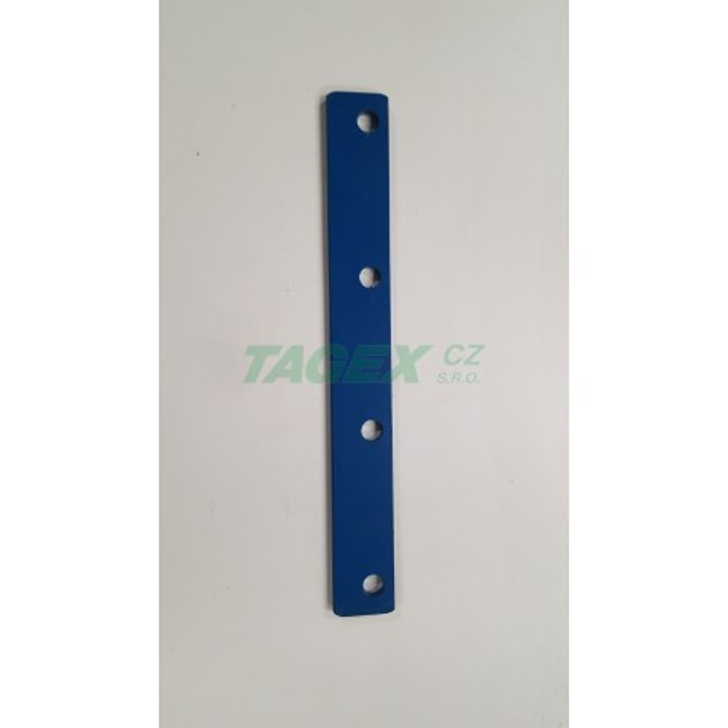 H175045 Prstová destička 5 mm 4-děrová/10726.01