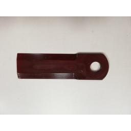 D 49080066/1347219 C4 Nůž drtiče REKORD 50x175x4,5, díra 20 mm, RASSPE /REKORD 44000/, hladký/51007