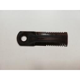 D 49074600 Nůž drtiče REKORD 50x175x4,5, díra 20 mm, RASSPE /REKORD 44000/ - 2 strany/51009