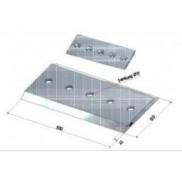 Gandini Chipper 70 Spezial Nůž štěpkovače 300x150x12